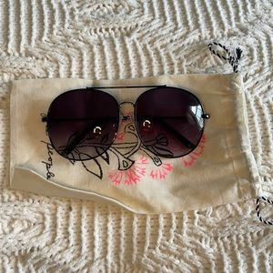 Free people over sized sunnies